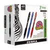 Z-Grip Retractable Ballpoint Pen, Medium 1 mm, Assorted Ink/Barrel, 48/Pack