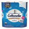 NON-RETURNABLE. ULTRA CLEANCARE TOILET PAPER, STRONG TISSUE, MEGA ROLLS, SEPTIC SAFE, 1-PLY, WHITE, 340 SHEETS/ROLL, 6 ROLLS/PACK, 6 PACKS/CT