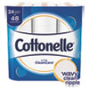 NON-RETURNABLE. ULTRA CLEANCARE TOILET PAPER, STRONG TISSUE, SEPTIC SAFE, 1 PLY, WHITE, 170 SHEETS/ROLL, 24 ROLLS/PACK, 2 PACKS/CARTON
