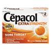 NON-RETURNABLE. Extra Strength Sore Throat Lozenges, Honey Lemon, 16 Lozenges