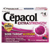 Sore Throat and Cough Lozenges, Mixed Berry, 16 Lozenges