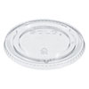 <strong>Dart®</strong><br />PETE Plastic Flat Cold Cup Lids, Fits 12-16 oz Cups, Clear, 1000/Carton
