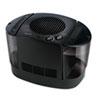 "Top Fill Console Cool Mist Humidifier, 3 gal, 12.3"" x 13.6"" x 13.1"", Black"