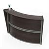 """<strong>Linea Italia®</strong><br />Reception Desk, 72"""" x 32"""" x 46"""", Mocha"""