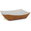 <strong>SCT®</strong><br />Hearthstone Food Trays, 5 lb Capacity, 8.48 x 5.85 x 2.32, Brown, 500/Carton