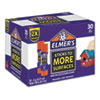 <strong>Elmer's®</strong><br />Extra-Strength School Glue Sticks, 0.21 oz, Dries Clear, 30/Pack