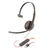 <strong>poly®</strong><br />Blackwire 3210, Monaural, Over The Head USB Headset