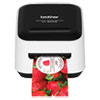 <strong>Brother</strong><br />VC-500W Versatile Compact Color Label and Photo Printer with Wireless Networking, 7.5 mm/s Print Speed, 4.4 x 4.6 x 3.8