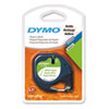 "DYMO 1/2"" Black on White Paper Tape"
