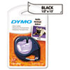 "<strong>DYMO®</strong><br />LetraTag Plastic Label Tape Cassette, 0.5"" x 13 ft, Clear"