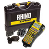 <strong>DYMO®</strong><br />Rhino 5200 Industrial Label Maker Kit, 5 Lines, 4.9 x 9.2 x 2.5