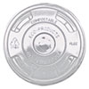 <strong>Eco-Products®</strong><br />GreenStripe Renewable and Compost Cold Cup Flat Lids, for 9-24 oz, 100/Pack, 10 Packs/Carton