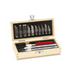 X-ACTO® Knife Set, 3 Knives, 10 Blades, Carrying Case EPIX5285