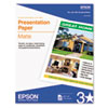 "Epson Photo Quality Inkjet Paper 8.5"" x 11"", 100 Sheets"