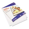 Premium Photo Paper, 10.4 mil, 8.5 x 11, High-Gloss Bright White, 25/Pack