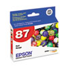 Epson® T087720 (87) UltraChrome Hi-Gloss 2 Ink, Red EPST087720