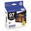 Epson® T097120 (97) Extra High-Yield Ink, Black EPST097120