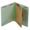 Pendaflex® Pressboard End Tab Classification Folders, Letter, 1 Divider/4-Section, 10/Box PFX23214