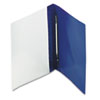 """Oxford® PressLock Report Cover, Prong Clip, Letter, 1/2"""" Capacity, Clear/Blue, 25/Box OXF52702"""