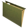 Pendaflex® SureHook™ Poly Laminate Hanging Folders, 1/5 Tab, Legal, Green, 20/Box PFX615315