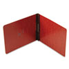 """Oxford® Pressboard Report Cover, Prong Clip, Letter, 2"""" Capacity, Red OXF71334"""
