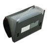 Pendaflex® 13-Pocket File, Poly, Letter, Black PFX82011