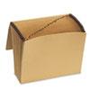 Pendaflex® Essentials™ Kraft Indexed Expanding File, 21 Pockets, Kraft, Letter, Brown PFXK17AOX