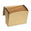 Pendaflex® Essentials™ Kraft Indexed Expanding File, 31 Pockets, Kraft, Letter, Brown PFXK17DOX