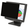 "Fellowes® PrivaScreen Blackout Privacy Filter for 20.1"" LCD FEL4801201"