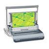 Fellowes® Quasar Manual Wire Binding Machine, 18 1/8 x 15 3/8 x 5 1/8, Metallic Gray FEL5217401
