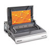 Fellowes® Galaxy Electric Comb Binding System, 500 Sheets, 19 5/8 x 17 3/4 x 6 1/2, Gray FEL5218301