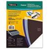 Fellowes® Futura Binding System Covers, Square Corners, 11 x 8 1/2, Black, 25/Pack FEL5224901