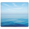 Fellowes® Recycled Mouse Pad, Nonskid Base, 7 1/2 x 9, Blue Ocean FEL5903901