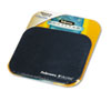Fellowes® Mouse Pad w/Microban, Nonskid Base, 9 x 8, Navy FEL5933801