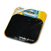 Fellowes® Mouse Pad w/Microban, Nonskid Base, 9 x 8, Black FEL5933901