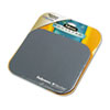 Fellowes® Mouse Pad w/Microban, Nonskid Base, 9 x 8, Graphite FEL5934001