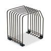 Fellowes® Wire File Organizer, 7 Comp, Steel, 7 3/8 x 5 7/8 x 8 1/4, Black FEL68112