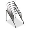 Fellowes® Wire Step File Jr, 6 Comp, Steel, 4 3/8 x 6 1/2 x 7 3/4, Black FEL72613