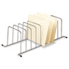 Fellowes® Wire Desktop/Drawer Organizer, 9 Comp, 11 1/2 x 23 1/4 x 7 1/2, Silver FEL73014
