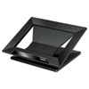 "Designer Suites Laptop Riser, 13.19"" x 11.19"" x 4"", Black Pearl, Supports 25 lbs"