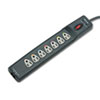 Fellowes® Power Guard Surge Protector, 7 Outlets, 12 ft Cord, 1600 Joules, Gray FEL99111