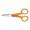 "Home And Office Scissors , 5"" Length, Orange Handle, Stainless Steel"