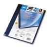 Swingline™ GBC® Opaque Plastic Binding System Covers, 11-1/4 x 8-3/4, Navy, 25/Pack SWI25730