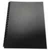 Swingline™ GBC® 100% Recycled Poly Binding Cover, 11 x 8-1/2, Black, 25/Pack SWI25818
