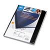 Swingline™ GBC® VeloBind Presentation Covers, 11 x 8-1/2, Black, 50/Pack SWI9742230