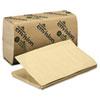 Georgia Pacific® Professional 1 Fold Paper Towel, 10 1/4 x 9 1/4, Brown, 250/Pack, 16 Packs/Carton GPC23504