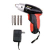 Great Neck® 4.8V Cordless Screwdriver, 4 Bits, 200RPM - 80129