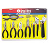 Great Neck® 8-Piece Steel Pliers and Wrench Tool Set - 87900