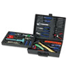 Great Neck® 110-Piece Home/Office Tool Kit, Drop Forged Steel Tools, Black Plastic Case - TK110