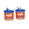 GOJO® FAST TOWELS Hand Cleaning Towels, 9 x 10, White, 225/Bucket, 2 Buckets/Carton GOJ629902CT